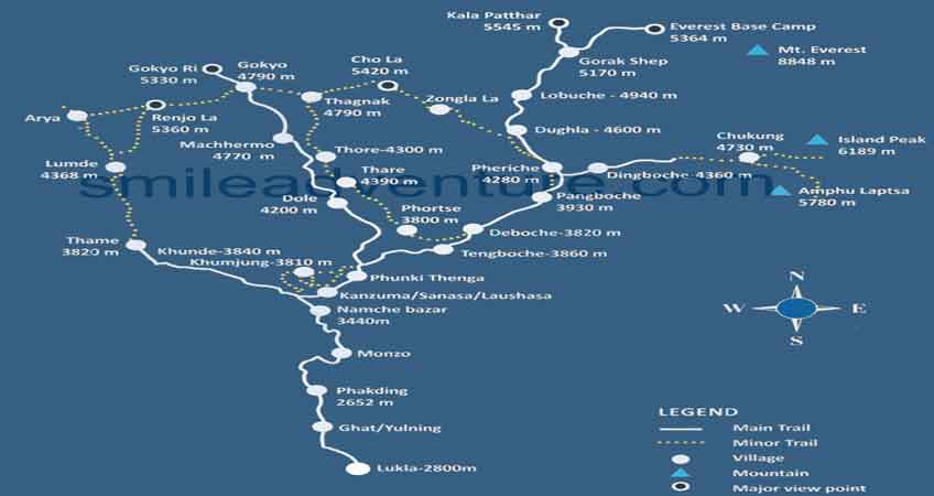 Trekking Routes to Get Everest Base Camp